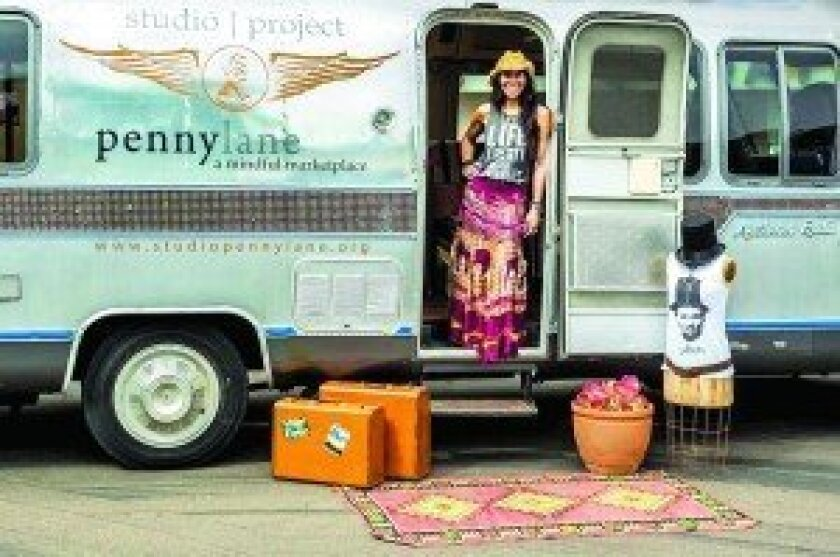 Laurie Libman-Wilson recently brought Studio Penny Lane to Flower Hill's Row Collective. Courtesy photo