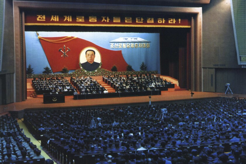The last Workers Party Congress took place in Pyongyang in 1980.