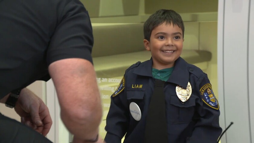 Make-A-Wish helps 5-year-old boy achieve dream of being a