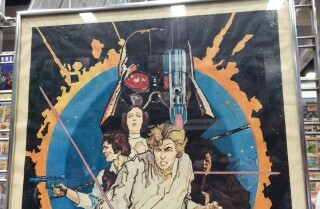 Classic 'Star Wars' poster at Comic-Con 2015