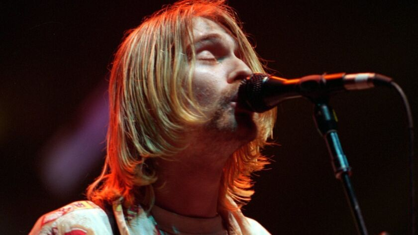 Kurt Cobain of Nirvana, another act that had original master recordings stored at the Universal Studios Hollywood facility destroyed by fire in 2008.