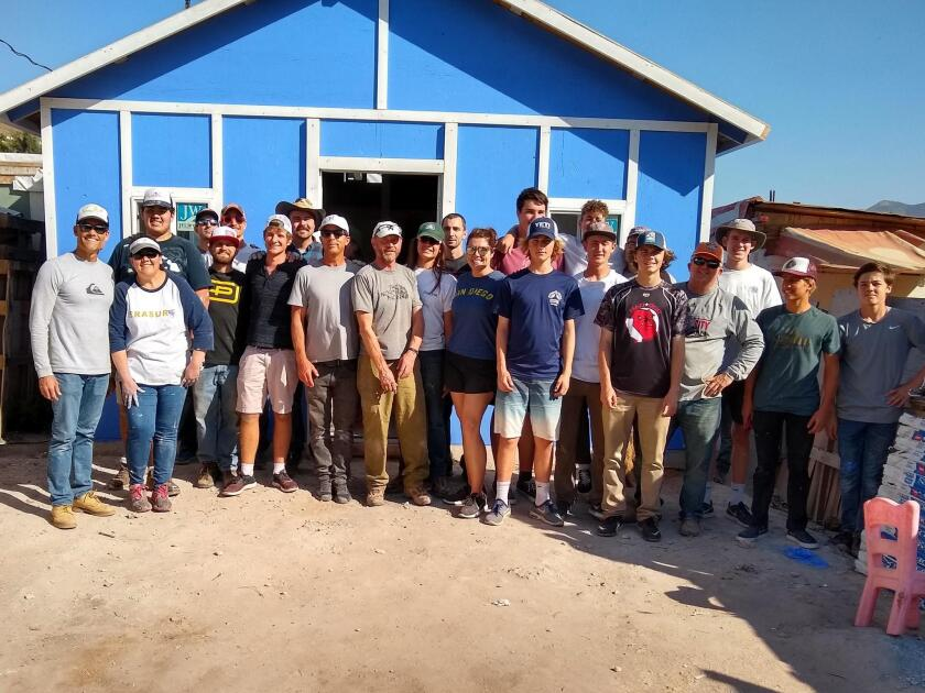 After 9.5 hours of hard work, the group was able to provide a safer and more comfortable place for a family of four.