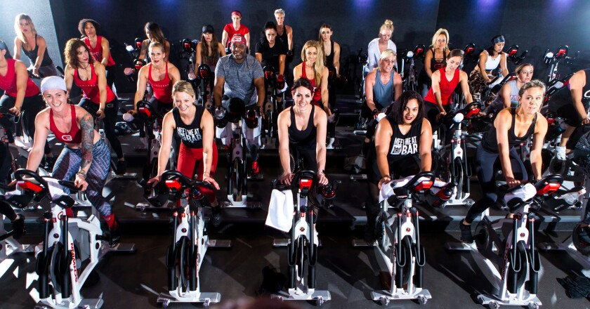 CycleBar offers fun and inspiring low-impact/high-intensity cycling classes for all ages and fitness levels in a state-of-the-art CycleTheatre.