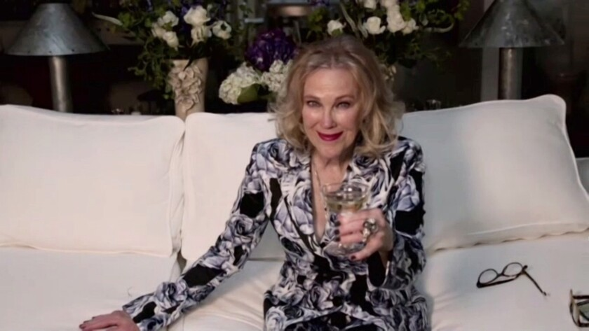 "Catherine O'Hara won a 2021 Golden Globe for her portrayal of Moira Rose in ""Schitt's Creek."""