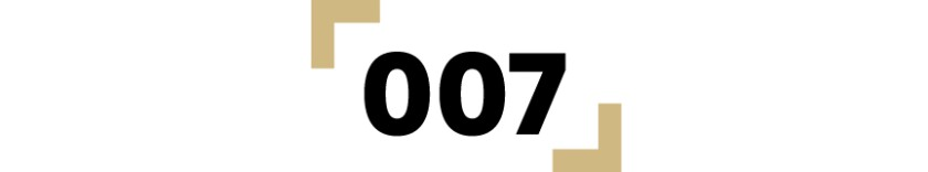 graphic of the number 007