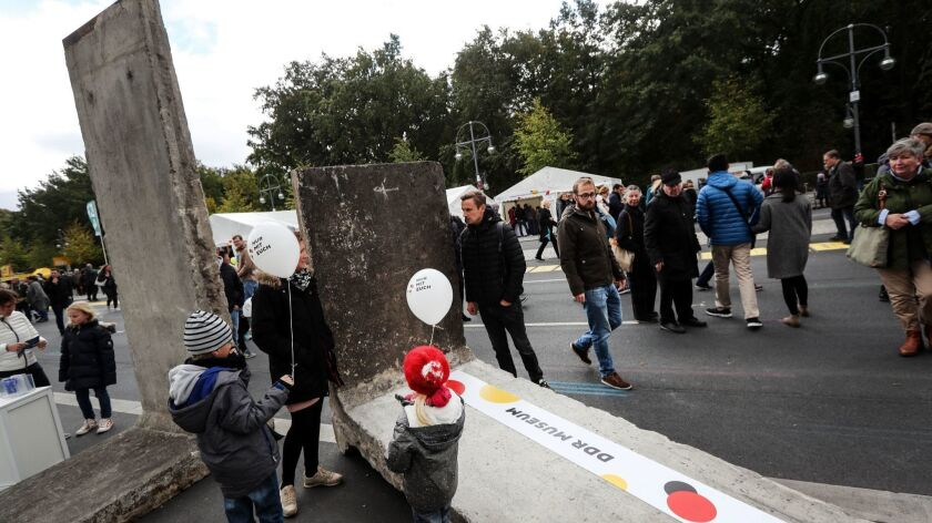 German Day of Unity in Berlin, Germany - 03 Oct 2018