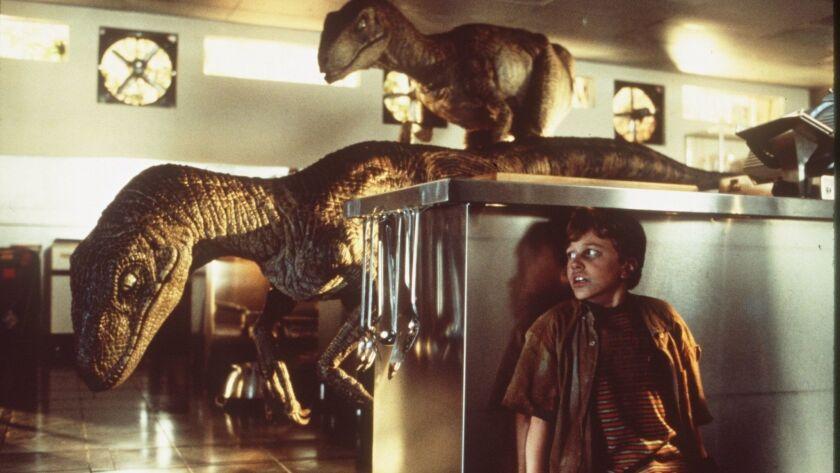 CA.00.18/Jurrasic Handout slide of Jurassic Park. Photo/Murray Close