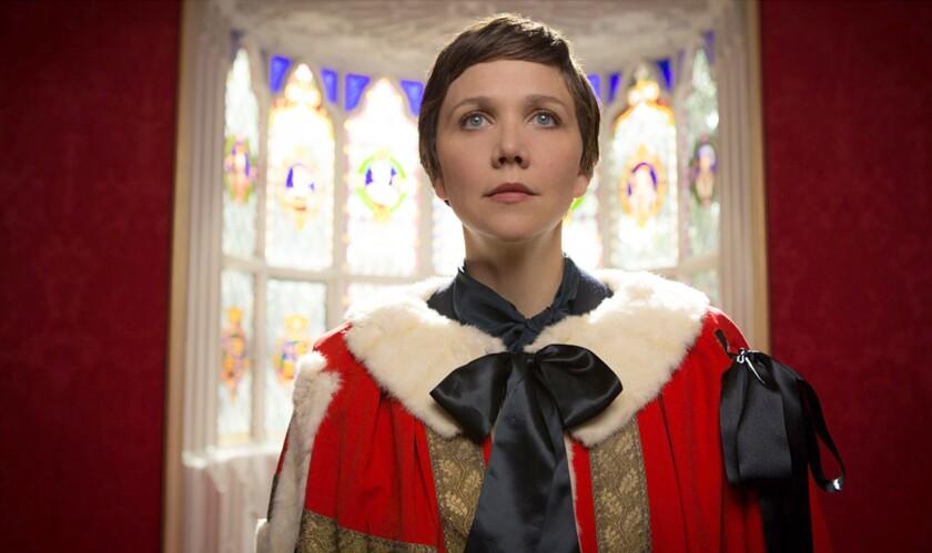 "Maggie Gyllenhaal stars in ""The Honorable Woman."""