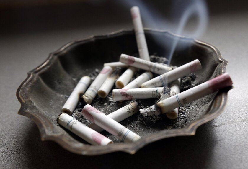 California raised its smoking age from 18 to 21 this week.