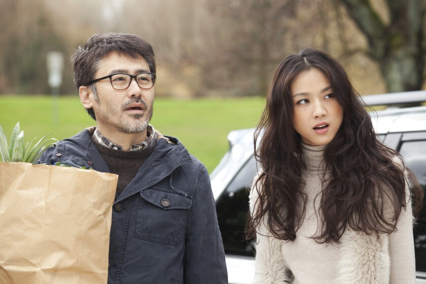 """Xiubo Wu and Wei Tang in """"Finding Mr. Right."""""""
