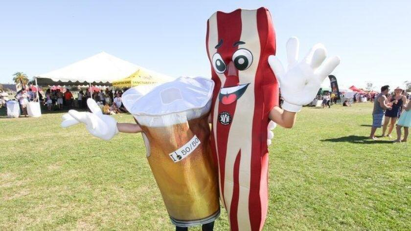 Bring your appetite to the annual San Diego Bacon Fest at Liberty Station. Bacon lovers will indulge in a variety of bacon-themed eats such as bacon cake, bacon sausage, bacon sushi rolls and more.