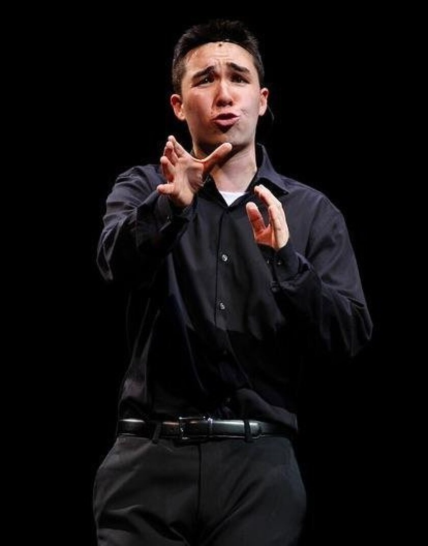 CCA graduate Cameron Chang recently performed on the Broadway stage of the Minskoff Theatre at the 2016 National High School Musical Theatre Awards, known as the Jimmy Awards.