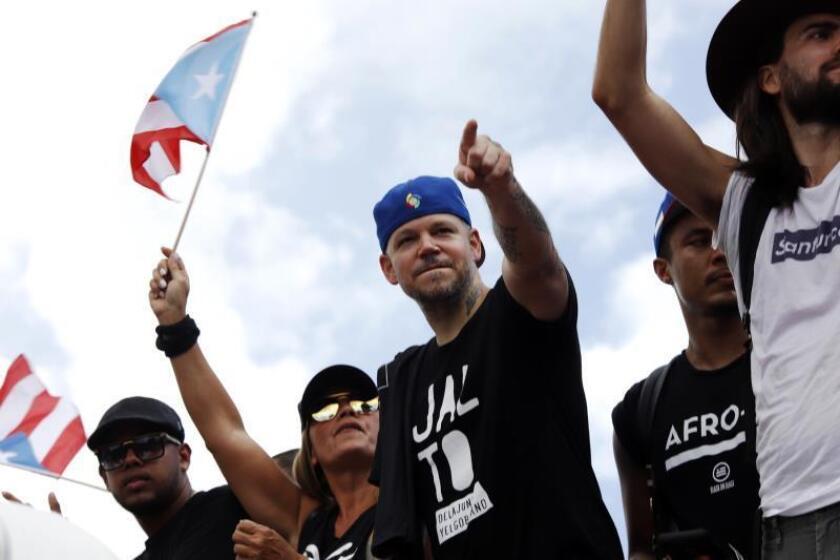 El cantante Residente dice no quiere creer todos los políticos son corruptos