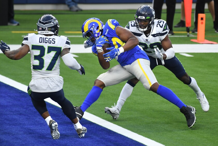 Rams 23 16 Victory Over The Seattle Seahawks By The Numbers Los Angeles Times