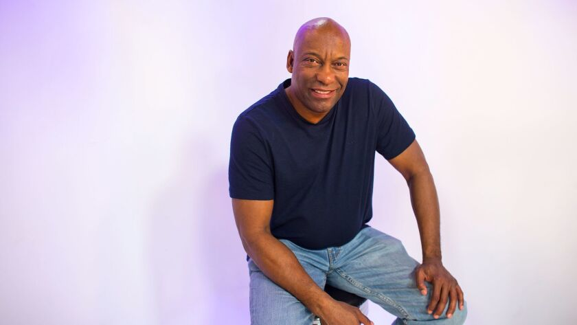 NORTH HOLLYWOOD, CA - MARCH 30, 2017: Prolific producer and director John Singleton is producing thr