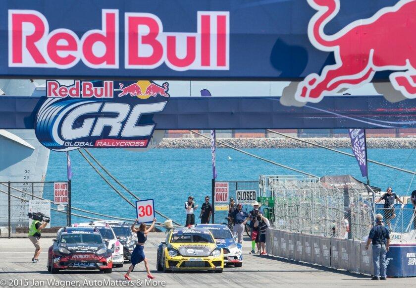 Red Bull Global Rallycross LA