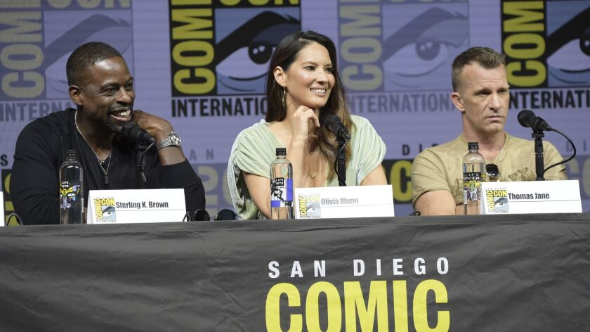 Sterling K. Brown, Olivia Munn, Thomas Jane