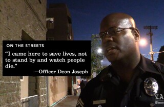 Join an L.A. police officer on his skid row beat