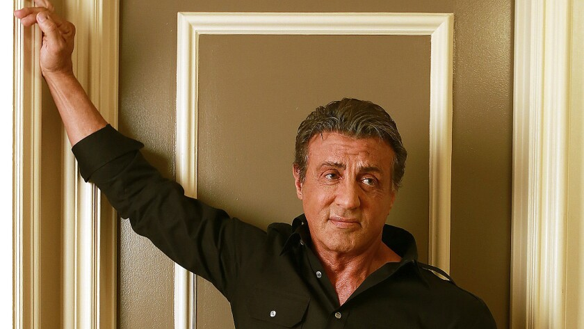 "Sylvester Stallone is back as Rocky Balboa in the new movie ""Creed."""