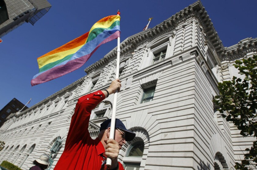 Foes of gay marriage appeal Prop 8 ruling to U.S. Supreme Court