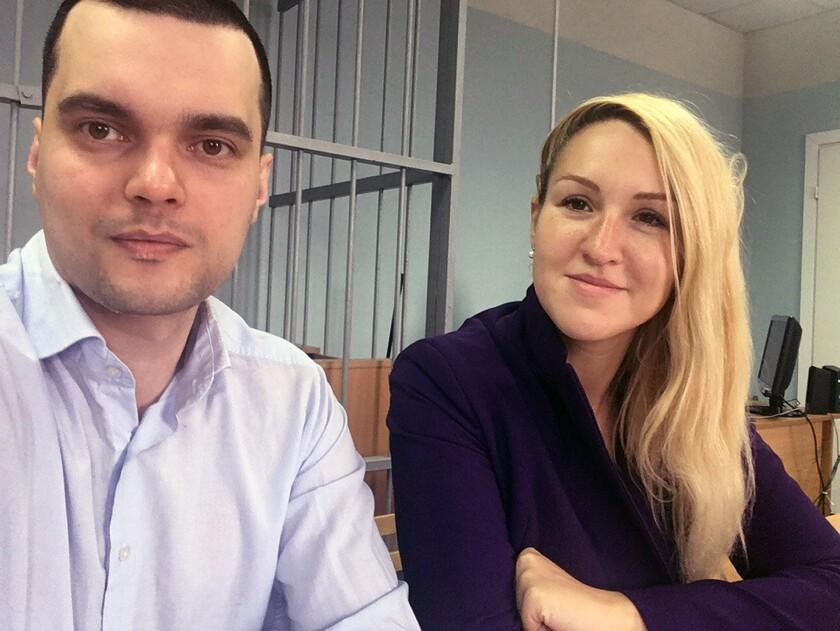 Virus Outbreak Russia Activist Detained