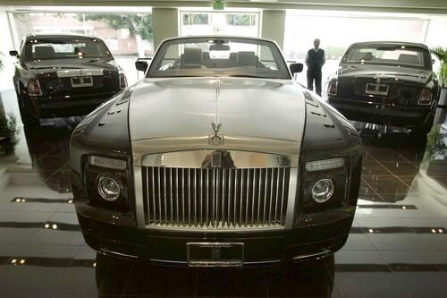 Three Rolls-Royces at O'Gara Coach