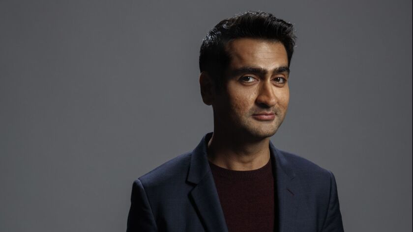 """HOLLYWOOD,CA --SUNDAY, MARCH 18, 2018--Kumail Nanjiani, from HBO's """"Silicon Valley,"""" photographed du"""