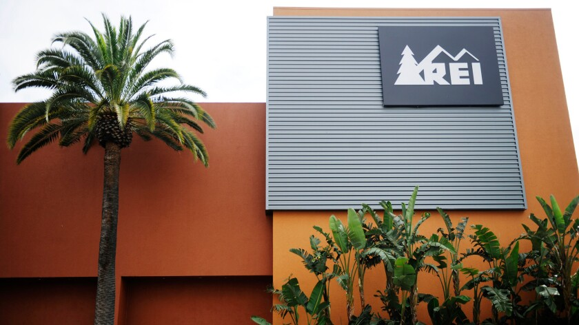 REI is among the businesses that rent out camping equipment.