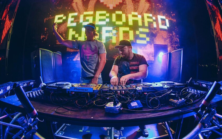 Pegboard Nerds. (Courtesy photo)