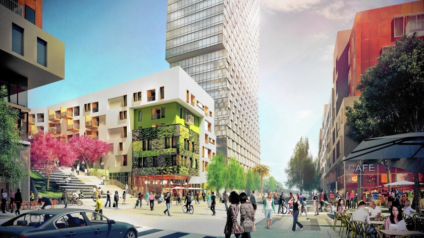 Downtown L.A. development planned