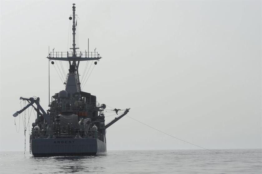 Un buque de Estados Unidos efectuó este domingo disparos de advertencia dirigidos a cuatro navíos iraníes cerca del estrecho de Ormuz, la boca del golfo Pérsico, confirmó a Efe uno de los portavoces del Departamento de Defensa. EFE/ARCHIVO