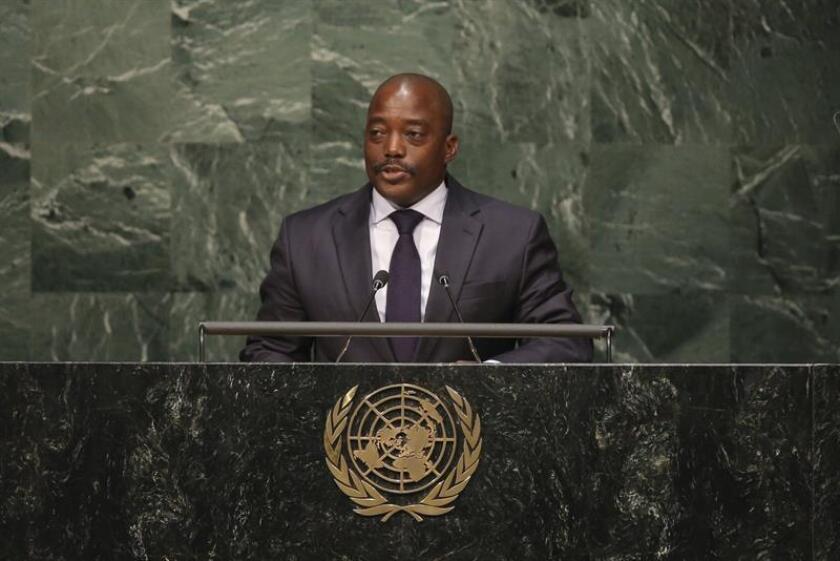El presidente de la República Democrática del Congo, Joseph Kabila. EFE/Archivo