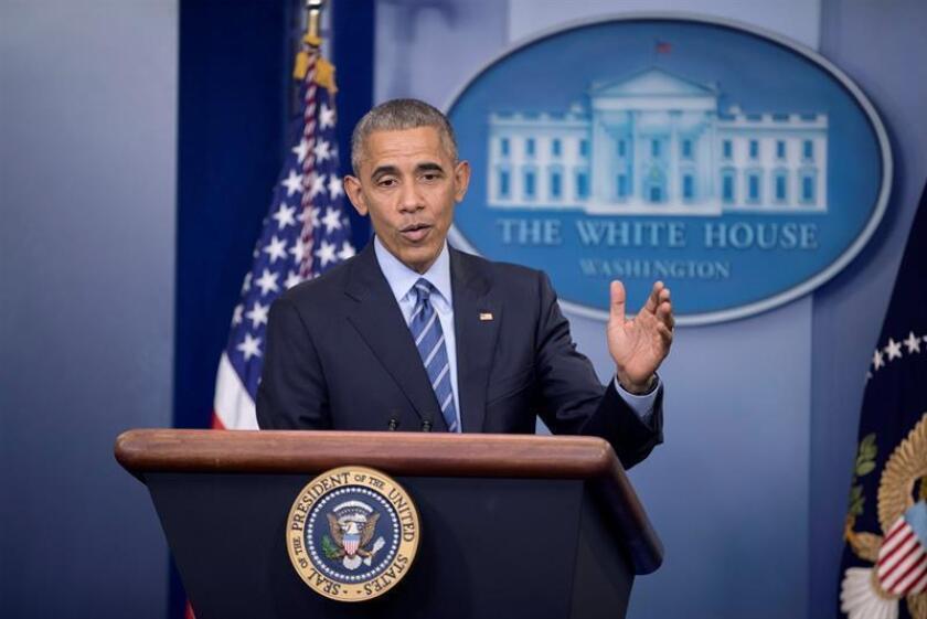 """El presidente, Barack Obama, pidió personalmente a su sucesor, el republicano Donald Trump, que proteja a los jóvenes indocumentados que llegaron al país de niños y a los que se conoce como """"dreamers"""" (""""soñadores""""). EFE/EPA/ARCHIVO"""