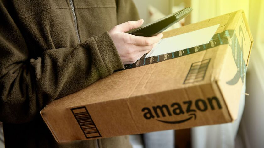 Amazon, already trying to keep up with a surge in online orders, depends on the willingness of tens of thousands of contract drivers to show up each day.