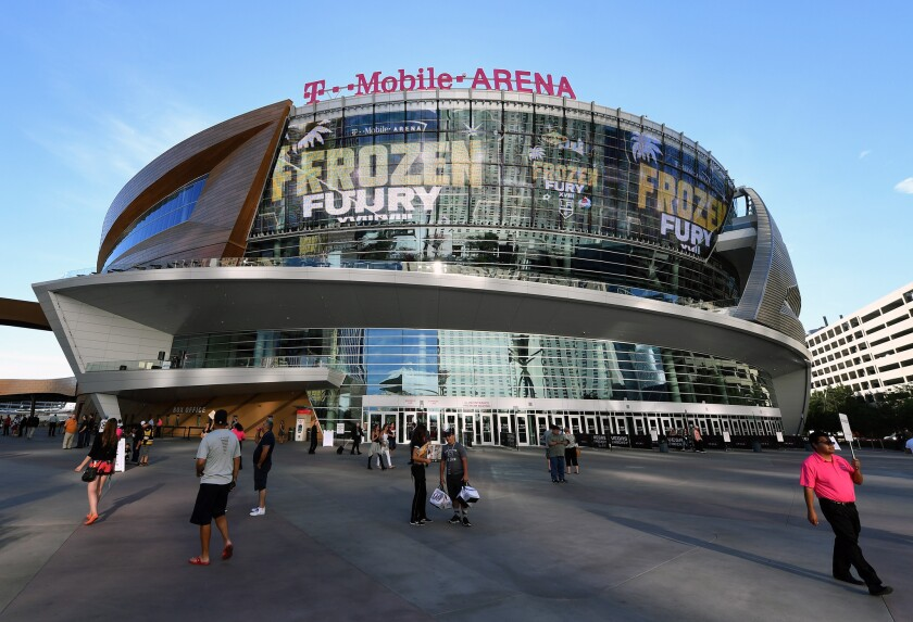 Nine of Canelo Alvarez's last 12 fights have been in Las Vegas, and he starred in the first sporting event at T-Mobile Arena two years ago on Cinco de Mayo weekend.