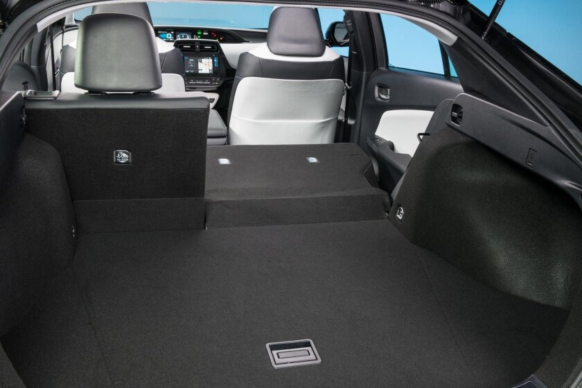 The back seat folds with a one-hand maneuver to create huge cargo capacity.