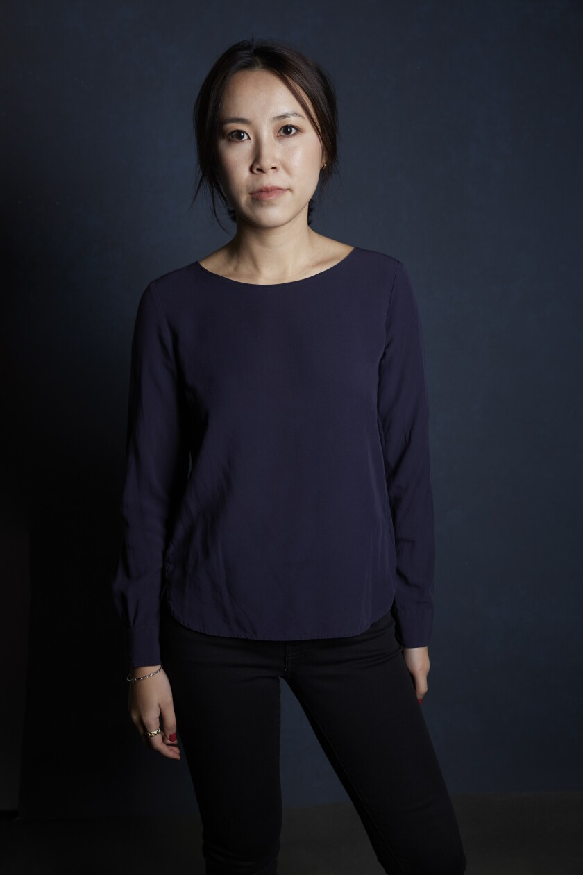 """Susie Yang, author of """"White Ivy."""""""