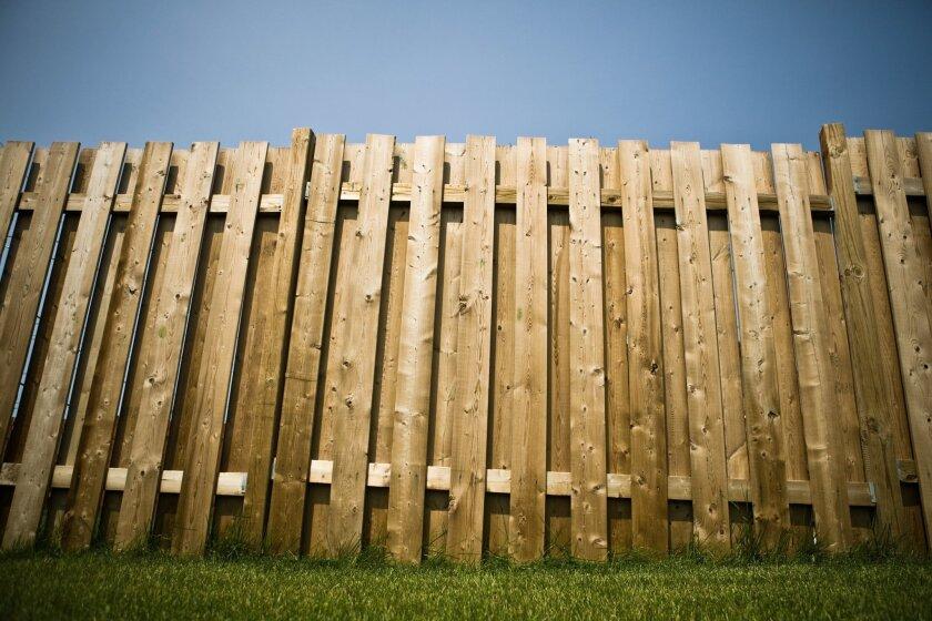 Building fences - The San Diego Union-Tribune