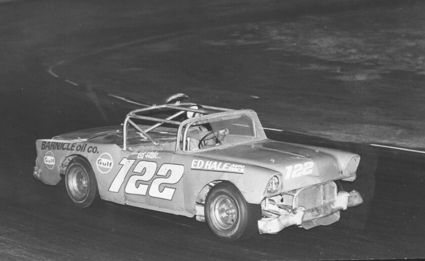 Ed Hale on Cajon Speedway