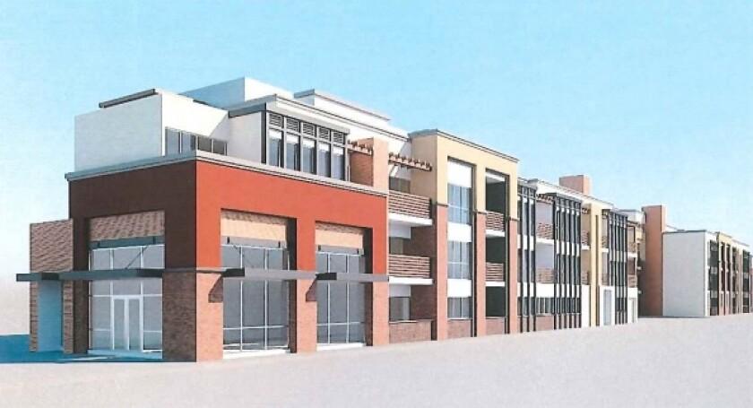 Ellis Avenue condo rendering