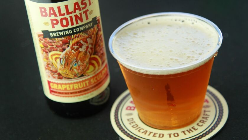 Grapefruit Sculpin from Ballast Point will be served at this years San Diego County Fair.