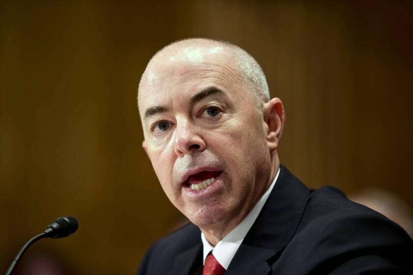 Homeland Security nominee denies misusing influence