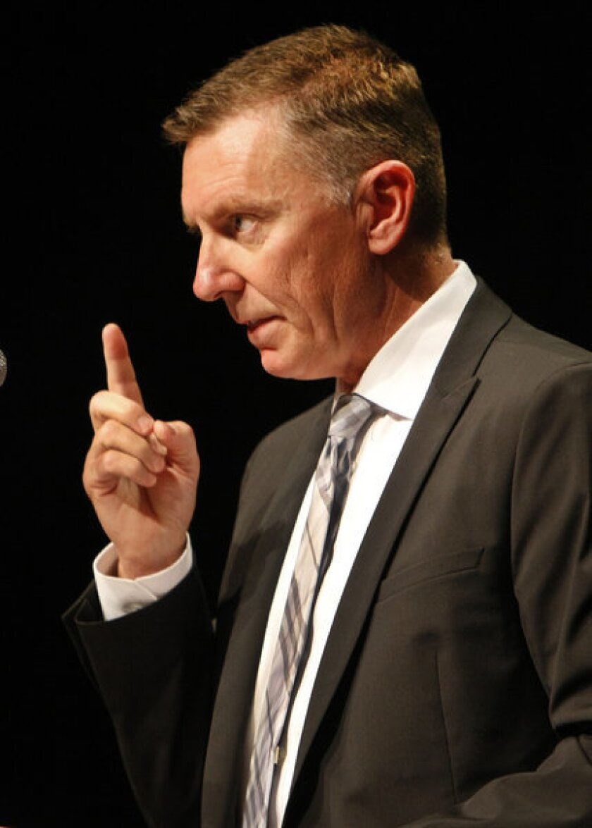 L.A. schools Supt. John Deasy says the district has not violated labor law with its new teacher evaluation system.