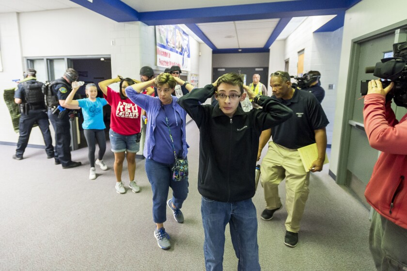 Editorial: Do active-shooter drills in schools hurt students more than they help?