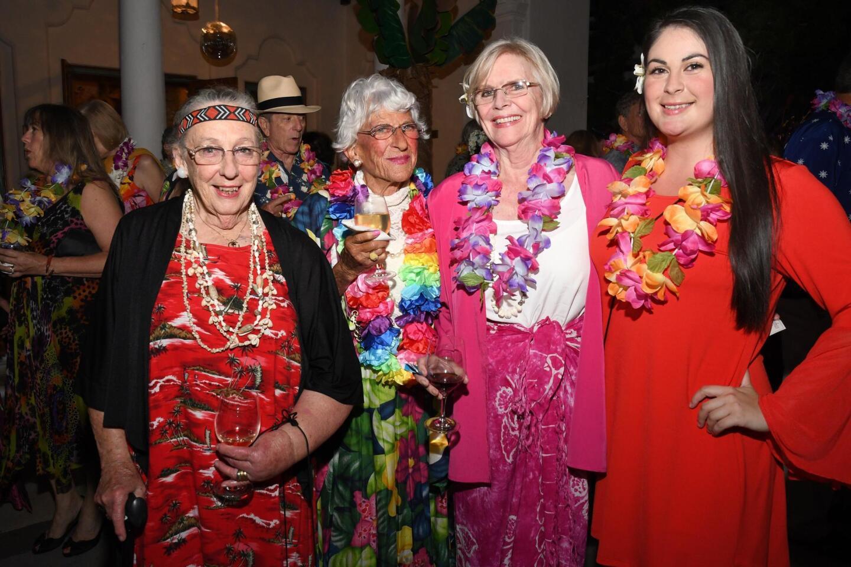 Ellen Phelan, Jacquie Woods, Patricia Rinaker, Nancy Walters