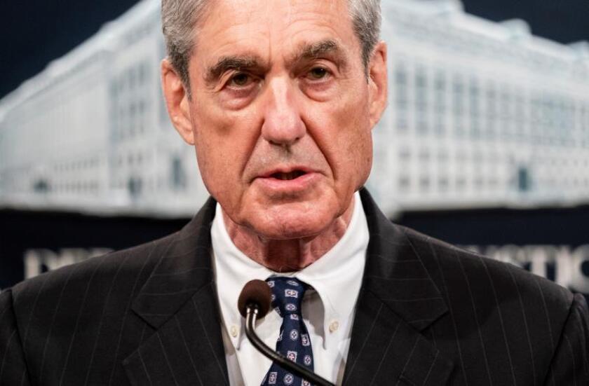 Gobierno pide a Mueller que limite su testimonio ante el Congreso