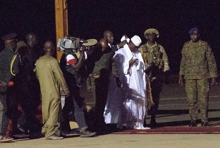 Gambia Dictator Returning?
