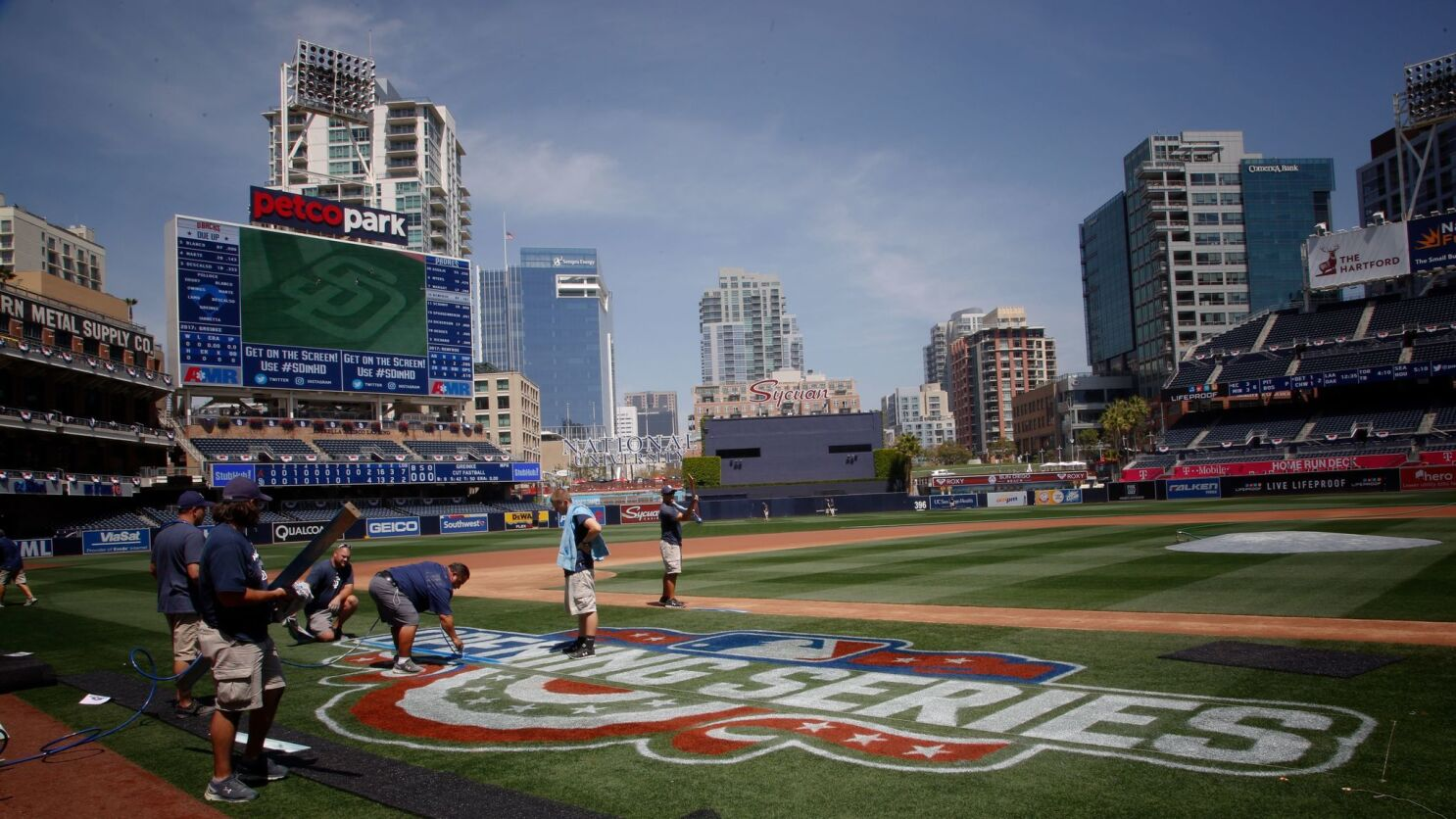 c6ba15b06b3203 Padres to add right-field video board to Petco Park - The San Diego ...