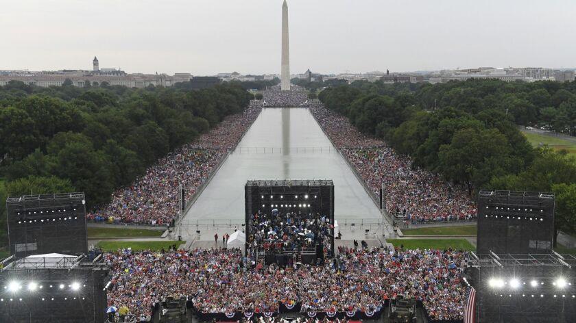 Trump's 'Salute to America' parade sets off celebrity
