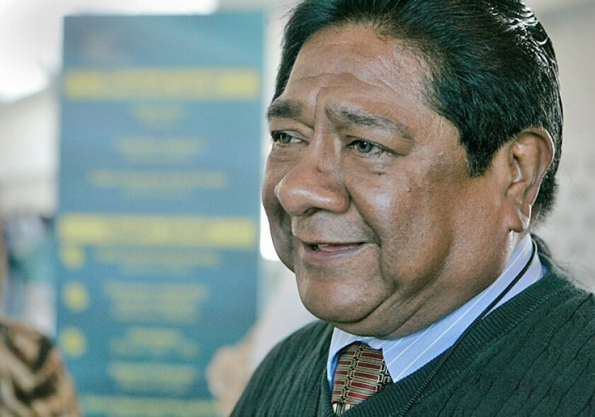 Danny Tucker, chairman of the Sycuan Band of the Kumeyaay Nation, said the past year has been tough, but he is seeing signs of a turnaround.